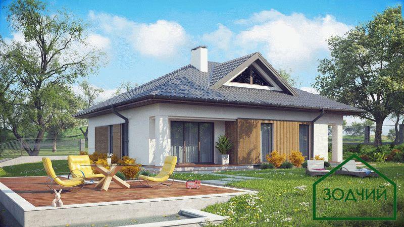 Дом из кирпича 2006 Площадь: 140 м2