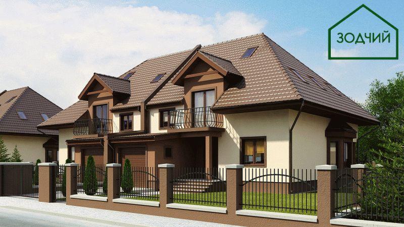 Дом из кирпича 2020 Площадь: 223 м2