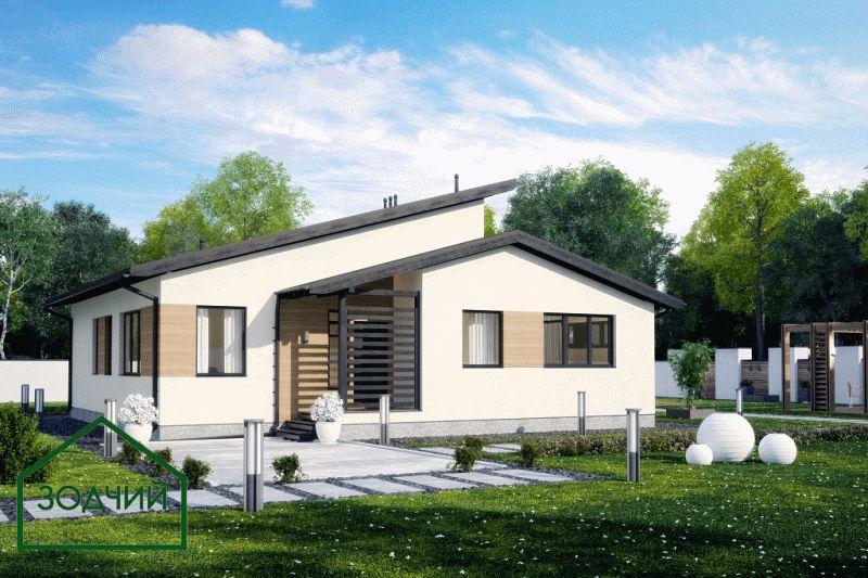 Дом из кирпича 2023 Площадь: 260 м2