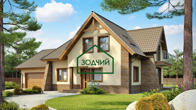 Дом из кирпича 2025 Площадь: 319 м2