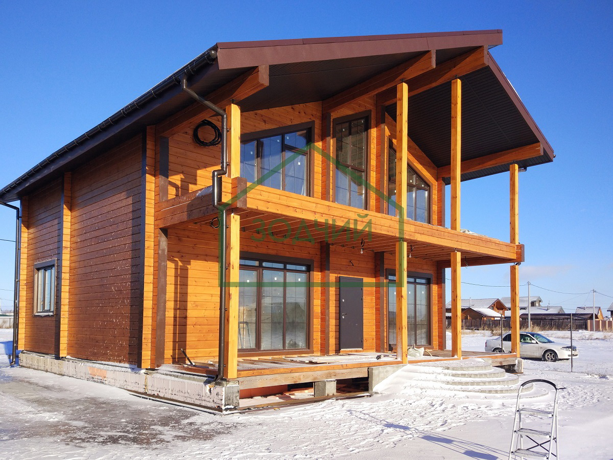 строительство домов в зимнее время